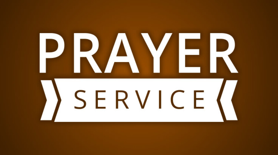 Wednesday Prayer Service