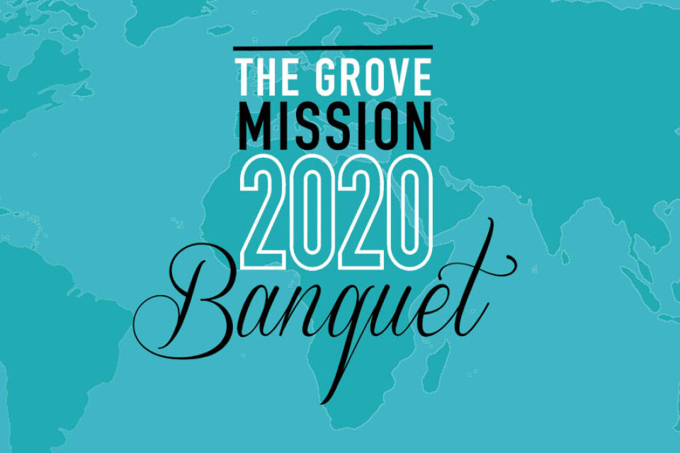The Grove Mission 2020 Banquet